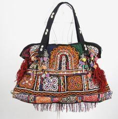 Bohemian Hippie look Handmade Women vintage tribal fabric | bohemiantouch