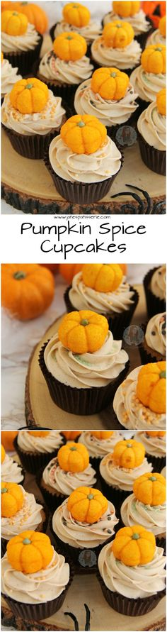 Pumpkin Spice Cupcakes!! ❤️ A delicious Cupcake twist on the classic and popular Pumpkin Spice Latte.. Pumpkin Spice Cupcakes with Pumpkin Spice Buttercream Frosting!
