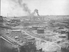 The Standard Oil Refinery.