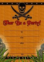 Pirate #party #invitation