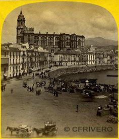 Una de las fotos más antiguas de MÁLAGA
