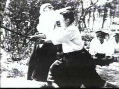 """Aikido - Morihei Ueshiba - Way of Harmony - 01"" Video of O-Sensei, founder of Aikido, near the end of his life (1970s?)."