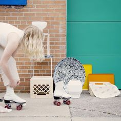 Late summer fun. On the street with Forage Modern Workshop