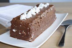 Duo glacé de mousse au chocolat et meringue