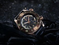 This Bronze Timepiece Is Partially Made from a Meteorite