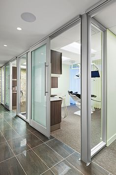 Dental Office Design Ideas dental office operatories dental office pinterest marketing wall colors and dental hygiene Bennett Signature Dentistry Dental Office Design By Joearchitect In Denver Colorado Perhaps Have All Glass But Then Be Able To Close Them