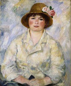 Portrait of Madame Renoir | Pierre-Auguste Renoir | oil painting