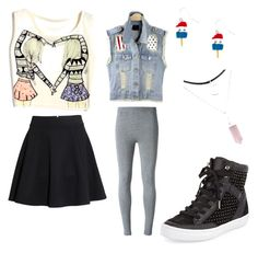 """""""Soft Grudge Outfit"""" by wolfnerd1 ❤ liked on Polyvore featuring H&M, T By Alexander Wang and Rebecca Minkoff"""