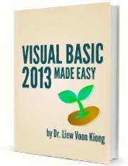 This is Visual Basic 2013 tutorial