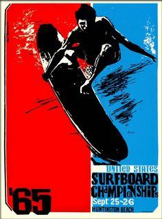 Size- Surfing 65 Vintage Surf wall Home Poster Print Art - Surf Design, Logo Design, Web Design, Graphic Design, Poster Surf, Surf Posters, Rock Posters, Poster Prints, Makeup Tips