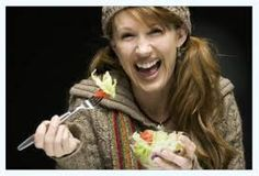 Women Laughing Alone With Salad. This makes me laugh. With salad. Women Laughing, People Laughing, Pcos Awareness Month, Chobani Greek Yogurt, Polycystic Ovarian Syndrome, We Are The World, How To Make Salad, Photos Of Women, Single Women