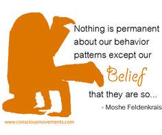 Conscious Quote #7 | Moshe Feldenkrais Quote