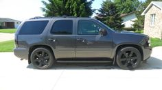 dark charcoal metallic - Chevy Tahoe ...