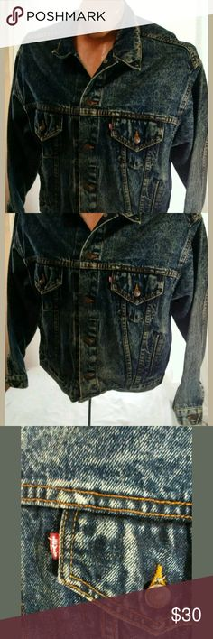 Vintage Levis Jean Jacket XL Good condition. No holes or stains. There's some wear on the buttons. Levi's Jackets & Coats