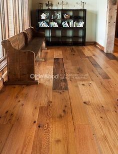 Olde Wood Offers The Finest Reclaimed Oak Flooring Featuring A Naturally Weathered Patina And Wide Plank Appeal Far Superior To That Of Strip