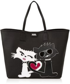 Pin for Later: 60 Purrfectly Fashionable Holiday Gifts For the Cat Lady in Your Life  Karl Lagerfeld Choupette Love Shopper (£245)