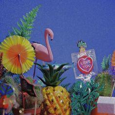 Image about kitsch in random ☁️✨👾 by secret block Key West, Malibu Barbie, Summer Aesthetic, Cool Tones, Indie Kids, Go Camping, Vaporwave, Summer Girls, Wall Collage