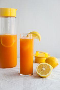 Carrot Lemonade / Jennifer Chong for @Better Homes and Gardens