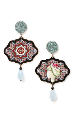 The Sultana, Marco Polo Earrings by Anna E Alex - Moda Operandi