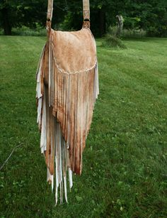 Ombre' Sheepskin Fringe Bag by confettijulie on Etsy, $269.00