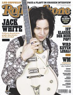 Jack on the cover of the German Rolling Stone.