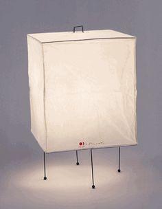 Table Lamp XP1 Akari Light Sculptures by Isamu Noguchi
