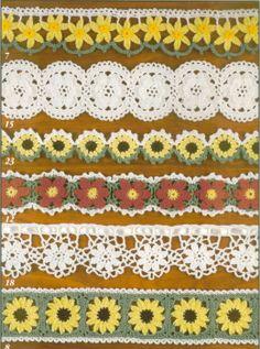Crochet edgings Crochet edges #crochet  patterns #afs collection
