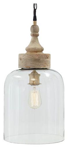 Modern Farmhouse Lighting, Farmhouse Pendant Lighting, Wood Pendant Light, Kitchen Pendant Lighting, Kitchen Pendants, Island Pendants, Clear Glass Pendant Light, Small Pendant Lights, Hanging Kitchen Lights