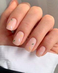 Nagellack Design, Nagellack Trends, Chic Nails, Stylish Nails, Colorful Nail, Pastel Nail Art, Fire Nails, Funky Nails, Oval Nails