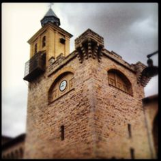 Saint Nicholas church #Pamplona #Navarre #Spain | Photo by Carlos Mendez Diamond