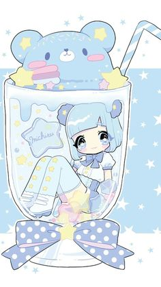 Find images and videos about cute, beautiful and beauty on We Heart It - the app to get lost in what you love. Chibi Kawaii, Cute Chibi, Kawaii Art, Kawaii Anime Girl, Anime Chibi, Anime Art, Cute Kawaii Animals, Cute Animal Drawings Kawaii, Cute Drawings
