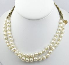 Chanel Pearl & Chain Sautoir Necklace - Garden Party Collection Vintage Jewelry