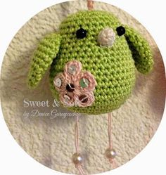 Pajaro Crochet tutorial