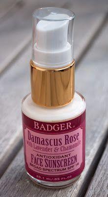 Badger's Damascus Rose Physical Sunscreen