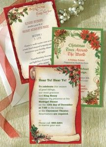 Holiday Invitations by PaperDirect   #HolidayPartyPlanning