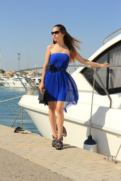 Blue dreams! (by Sandra  P) http://lookbook.nu/look/3929924-Blue-dreams