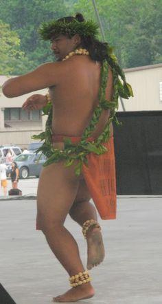 Real men dance hula! :)