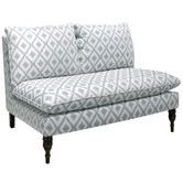 Found it at Wayfair - Ikat Settee Loveseat