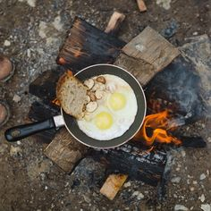 Be inventive - this #campfire breakie looks delish!