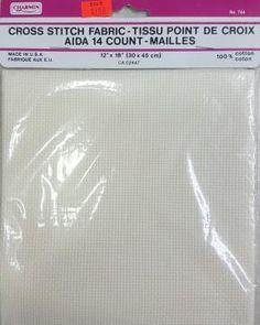 Aida 14 Count Ivory x cm x cm from Charmin Huck Towels, Pink Gingham, White Towels, Guest Towels, Red Christmas, Needlepoint, Needlework, Count, Fabrics