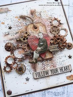 ***If you've arrived at my blog for the Creativation 2018 Tim Holtz Blog Hop and Giveaway ~ please click HERE *** Hi everyone... H...