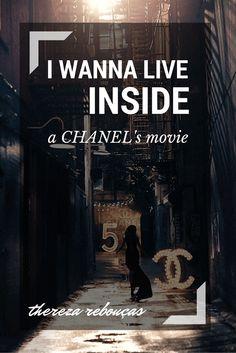Thereza Rebouças: I wanna live inside a Chanel movie