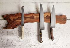 Grapevine Knife Rack