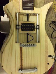 Custom Arduino guitar