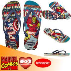149ba5643 Havaianomaniacos: Havaianas lança modelos com estampa da Marvel 2017.
