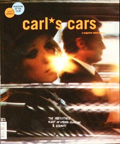 Carl's Cars issue 19. Archive image by Sarah Moon on cover.