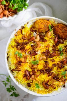 Egg Dum Biryani is a flavorful and delicious Indian rice preparation which can be easily made at home. Here is a tried and tested recipe to make Egg Dum Biryani . Paneer Recipes, Veg Recipes, Curry Recipes, Indian Food Recipes, Asian Recipes, Vegetarian Recipes, Cooking Recipes, Keema Recipes, Indian Foods