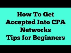 How to Get Approved on CPA Network ~ Zahid Hasan Nazmul Blogging Site !!!