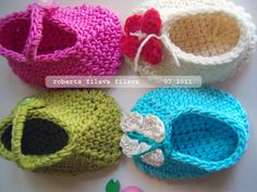 Slippers Cotton Crochet