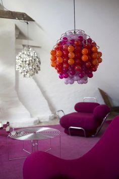 Verner Panton - White room attic